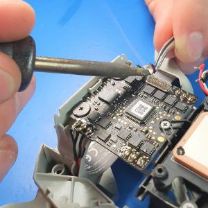 DJI Mavic Mini repair in progress